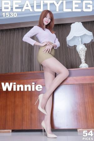 VOL.489 [Beautyleg]丝袜美腿OL美女长腿美女:Winnie小雪(庄咏惠,庄温妮,腿模Winnie)高品质写真套图(39P)