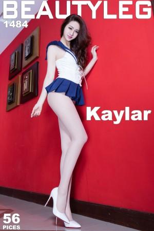 VOL.794 [Beautyleg]制服翘臀丝袜美腿:康凯乐(腿模Kaylar)高品质写真套图(49P)