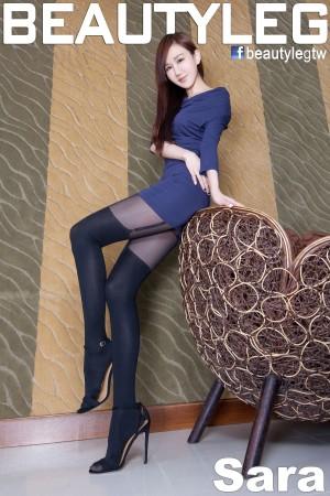 VOL.1862 [Beautyleg]丝袜美腿黑丝高跟:林瑞瑜(Beautyleg Sara,腿模Sara)高品质写真套图(49P)