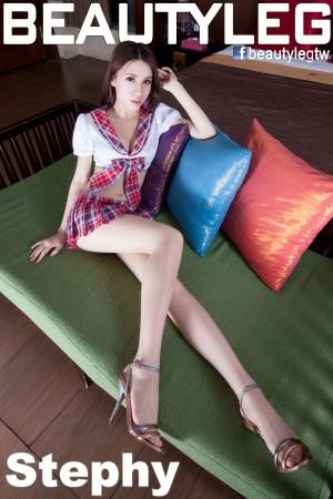 VOL.953 [Beautyleg]校服水手服高跟高跟美腿:崔多朵(崔德蓉,腿模Stephy)高品质写真套图(43P)