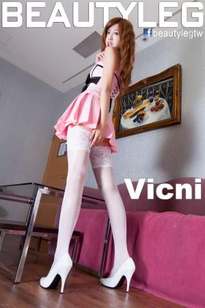 VOL.1887 [Beautyleg]超短裙美腿白丝:简晓育(腿模Vicni,晓育儿)高品质写真套图(60P)