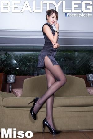 VOL.126 [Beautyleg]美腿黑丝:夏晴(夏晴Miso,腿模Miso)高品质写真套图(58P)