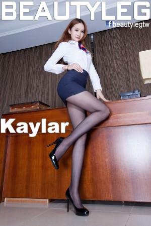 VOL.1548 [Beautyleg]美腿黑丝制服:康凯乐(腿模Kaylar)高品质写真套图(69P)