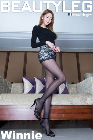 VOL.1591 [Beautyleg]美腿丝袜美腿黑丝:Winnie小雪(庄咏惠,庄温妮,腿模Winnie)高品质写真套图(46P)