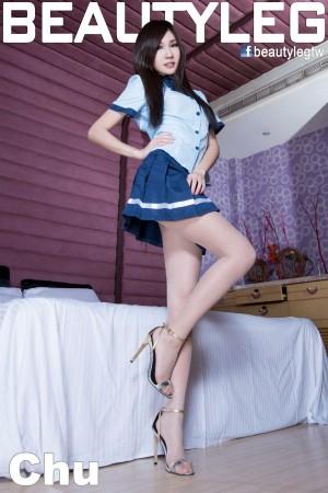 VOL.552 [Beautyleg]校服高跟美腿:张雅筑(腿模Chu,张小筑)高品质写真套图(45P)
