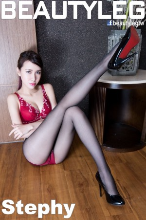 VOL.693 [Beautyleg]美腿黑丝内衣美女:崔多朵(崔德蓉,腿模Stephy)高品质写真套图(48P)